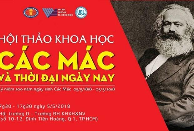 Symposium : « Karl Marx et les temps modernes » a HCM-Ville hinh anh 1