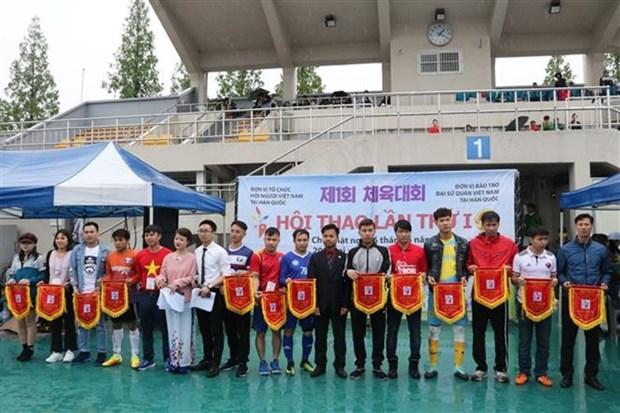 Activites sportives des Viet kieu a Singapour et en Republique de Coree hinh anh 2