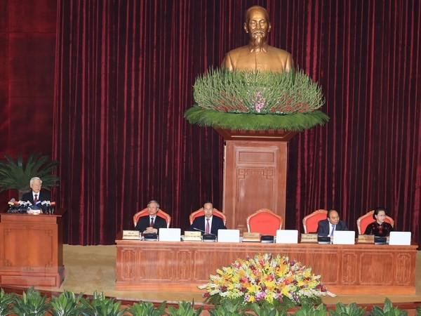Le leader du PCV souligne l'edification du corps des cadres strategiques qualifies hinh anh 1