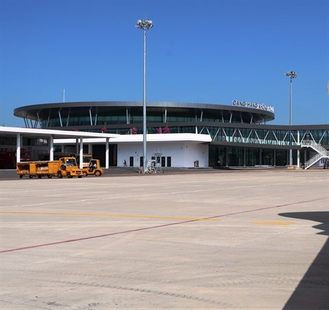 Binh Dinh : L'aeroport Phu Cat inaugure une nouvelle gare hinh anh 1