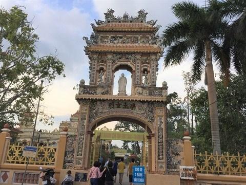 Vinh Trang, la plus belle pagode de la province de Tien Giang hinh anh 1