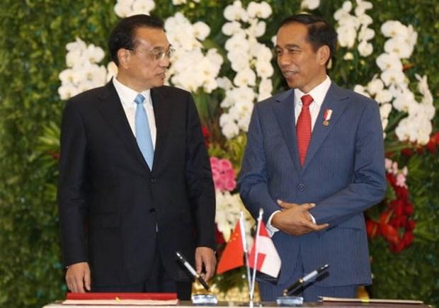 La Chine et l'Indonesie promeuvent leur cooperation hinh anh 1