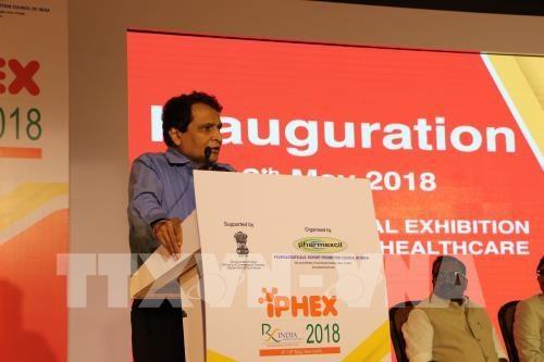 Le Vietnam au Salon international de l'industrie pharmaceutique et de la sante en Inde hinh anh 1