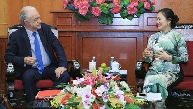 Renforcer la cooperation entre le FPV et le CESE hinh anh 1