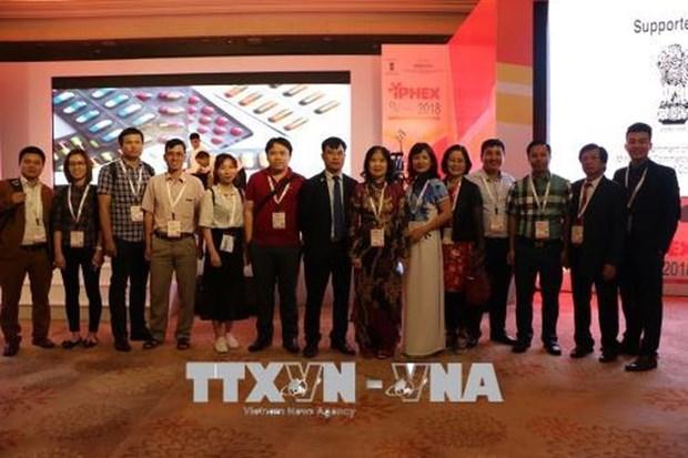 Le Vietnam au Salon international de l'industrie pharmaceutique et de la sante en Inde hinh anh 2