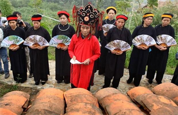 Cao Bang: le festival de Nang Hai nomme patrimoine national immateriel hinh anh 1