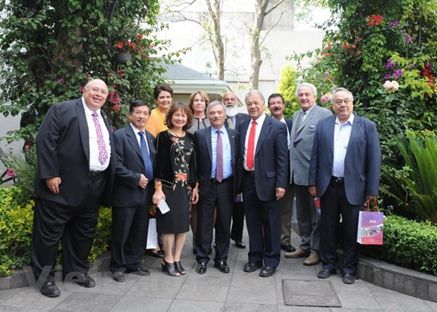 Le secretaire general du PT du Mexique apprecie la cooperation avec le Vietnam hinh anh 1