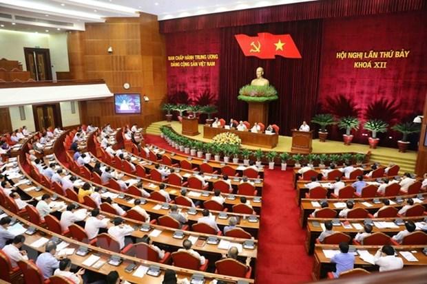 Le 7e Plenum du CC du PCV: debat sur la reforme des politiques des assurances sociales hinh anh 1