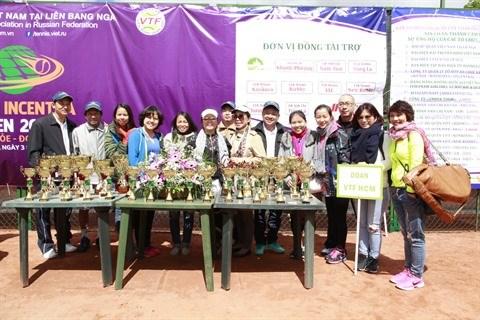 VITAR, le tournoi de tennis des Vietnamiens expatries hinh anh 1