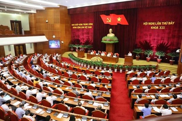 Les questions discutees au 7e Plenum du CC du PCV attirent l'attention du public hinh anh 1