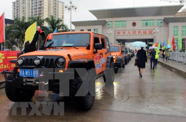 Vietnam et Chine elargissent des circuits touristiques pour les automobilistes hinh anh 1