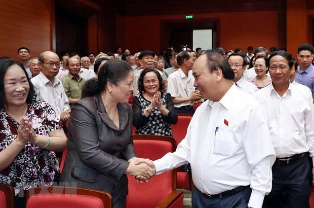 A Hai Phong, le PM souligne l'importance du 7e plenum du CC du Parti hinh anh 2