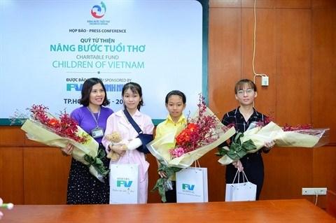 Un fonds pour soigner les enfants pauvres a l'hopital FV de HCM-Ville hinh anh 1