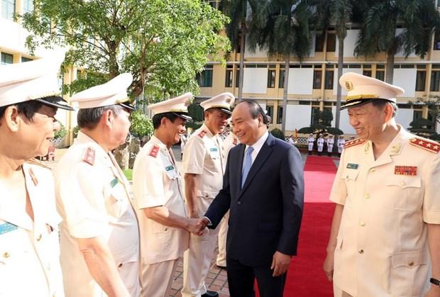 Les six enseignements adresses par l'Oncle Ho est la mission de la Police populaire hinh anh 1