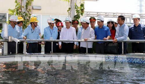 Le vice-PM Trinh Dinh Dung se rend dans la province de Ha Tinh hinh anh 1