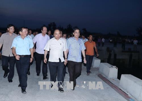 Incident environnemental au Centre: le PM se rend a Thua Thien-Hue et Quang Tri hinh anh 1