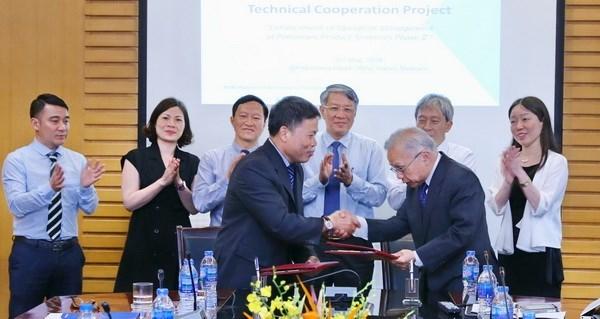 Petrolimex et JCCP signent un accord de cooperation technique pour la 2e phase hinh anh 1