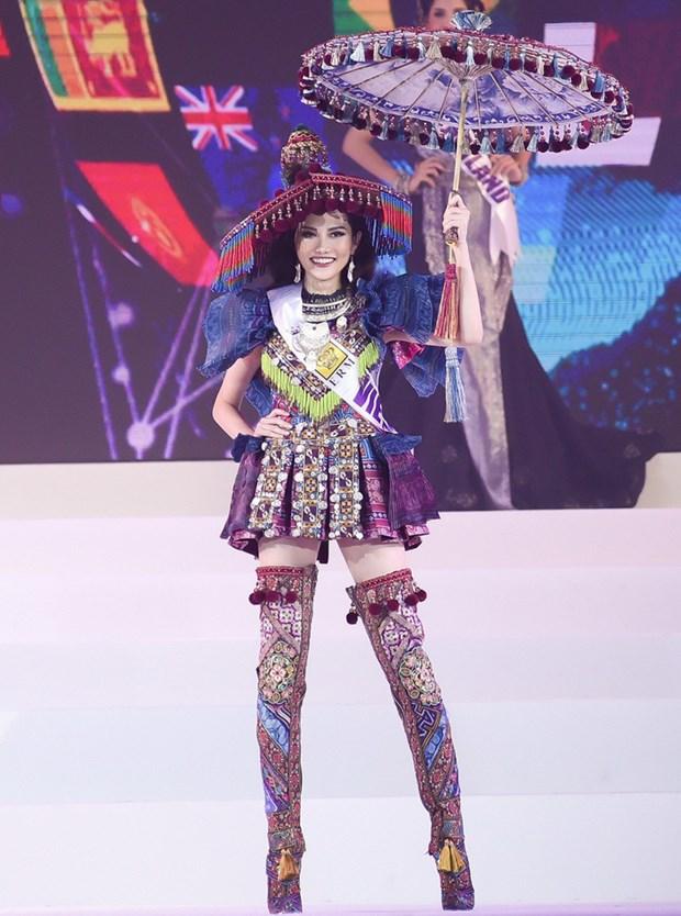 Une Vietnamienne remporte le titre de Miss Global Tourism hinh anh 2
