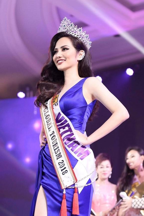 Une Vietnamienne remporte le titre de Miss Global Tourism hinh anh 1