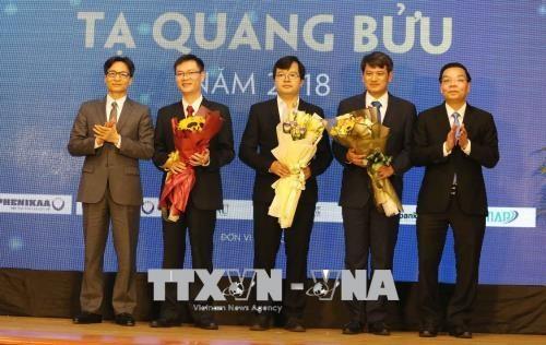 Remise du prix Ta Quang Buu 2018 hinh anh 1