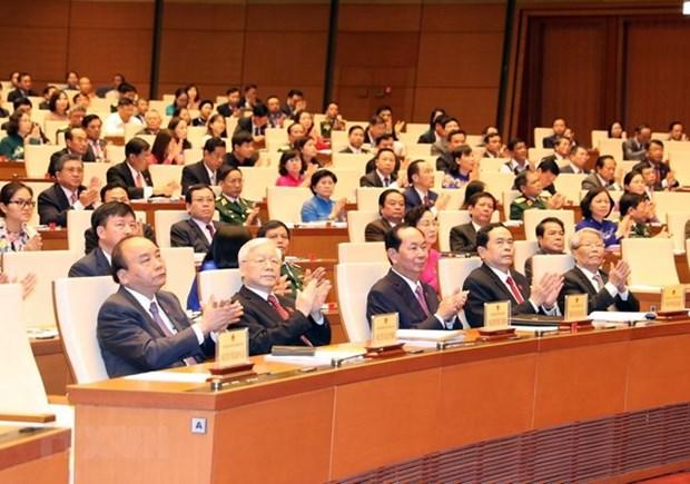 AN de la 14e legislature : communique No1 sur l'ouverture de la 5e session hinh anh 1