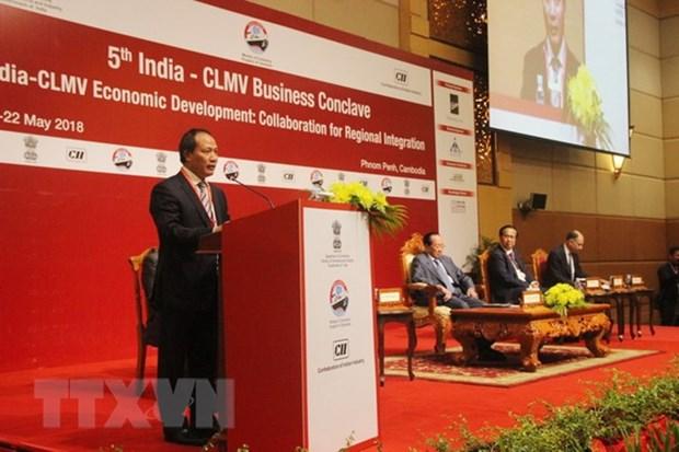 Le Vietnam a une conference d'affaires entre l'Inde et les pays CLMV hinh anh 1