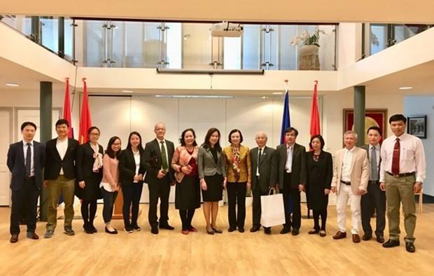 Une delegation du Parti communiste du Vietnam visite les Pays-Bas hinh anh 1