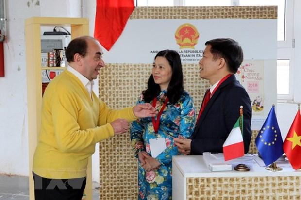Le Vietnam participe au Festival international du cafe en Italie hinh anh 1