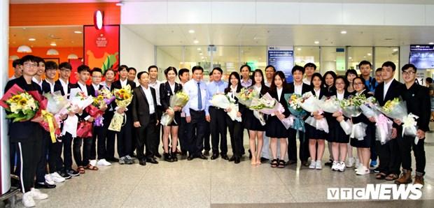 Le Vietnam decroche un troisieme prix et un prix d'encouragement au concours Intel ISEF 2018 hinh anh 1