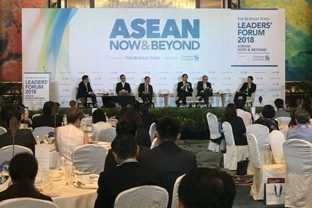 Singapour appelle l'ASEAN a s'unir contre le protectionnisme hinh anh 1