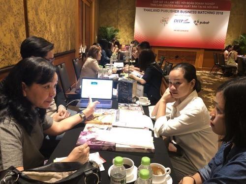 Vietnam-Thailande : rencontre des entreprises du secteur de l'edition hinh anh 1