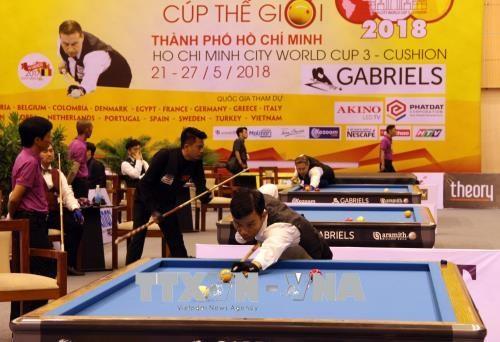 Coupe du monde de Billard de carom 3 bandes 2018 a Ho Chi Minh-Ville hinh anh 1