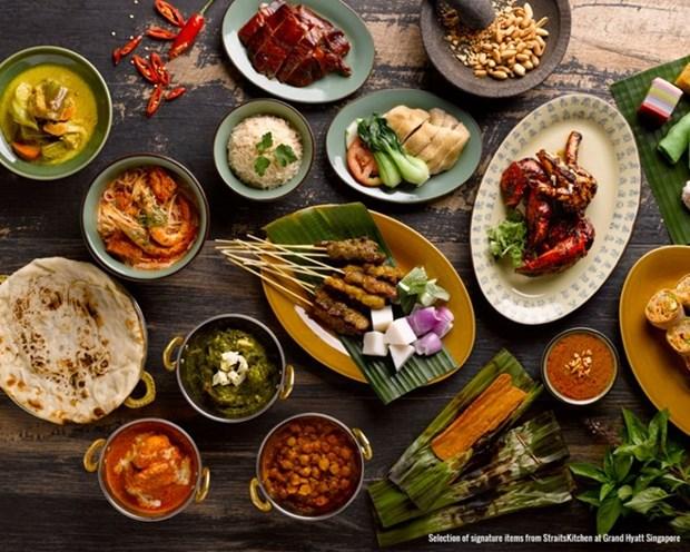 La Fete de la gastronomie singapourienne a Ho Chi Minh-Ville hinh anh 1