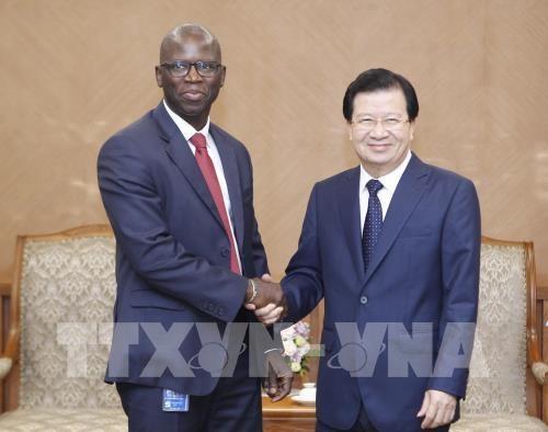 Cooperation intensifiee avec la BM dans le developpement des infrastructures hinh anh 1