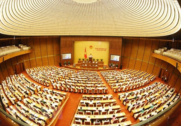 L'Assemblee nationale discute des amendements de certains projets de loi hinh anh 1
