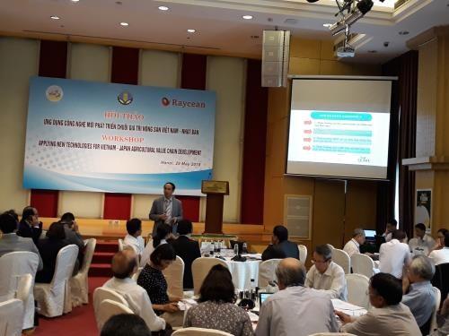 L'application des technologies pour le developpement de la chaine de valeur agricole Japon-Vietnam hinh anh 1