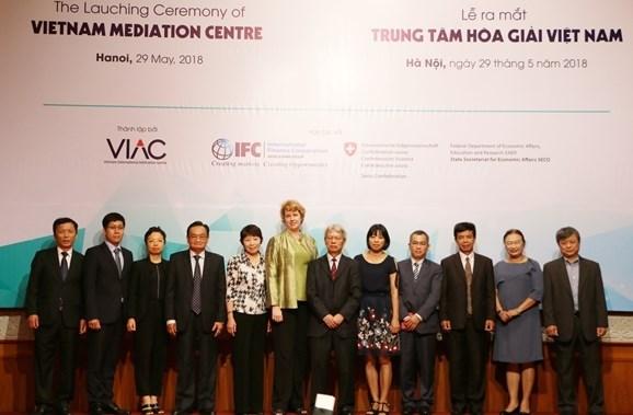 Fondation du Centre de la mediation du Vietnam hinh anh 1