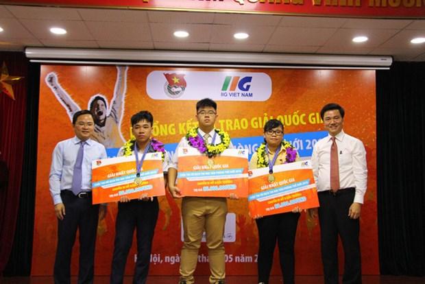 Informatique : Trois Vietnamiens participeront a la finale du MOSWC 2018 aux Etats-Unis hinh anh 1