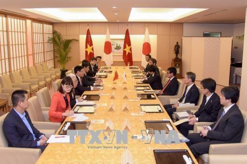 Le vice-PM Pham Binh Minh s'entretient avec le ministre japonais des AE hinh anh 1