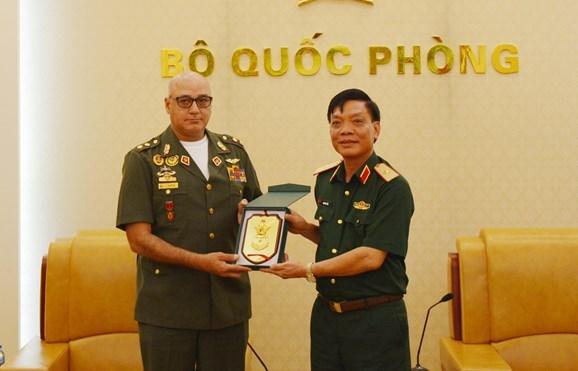 Le Vietnam et le Venezuela cultivent leur cooperation de defense hinh anh 1