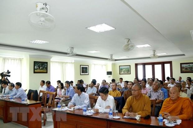 Edification d'une communaute vietnamienne plus solide au Laos hinh anh 1