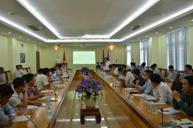 Les entreprises vietnamiennes contribuent au developpement du Cambodge hinh anh 1
