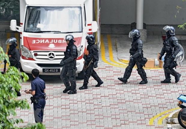 Singapour : securite resserree au seuil du 17e Dialogue de Shangri-La  hinh anh 1