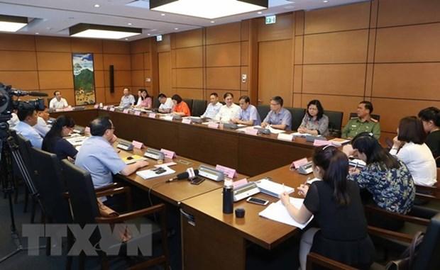 Les deputes de l'AN discutent de la loi anti-corruption hinh anh 1