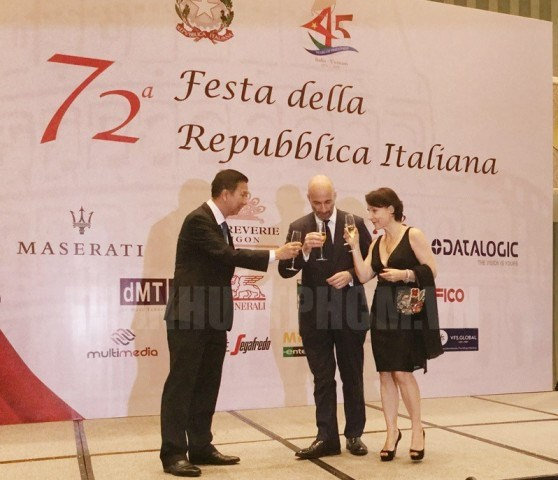 La fete nationale d'Italie celebree a Ho Chi Minh-Ville hinh anh 1