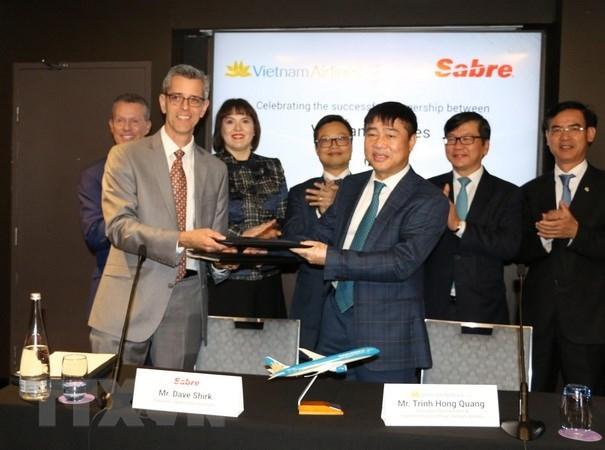 Vietnam Airlines ameliore son systeme de services aux passagers hinh anh 1