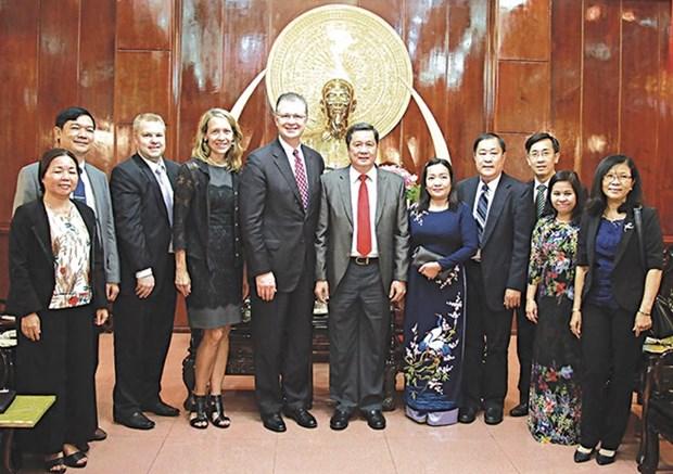 Opportunites de cooperation entre Can Tho et les Etats-Unis hinh anh 1