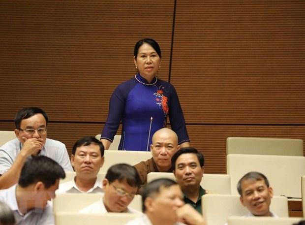 Les deputes de l'AN saluent la seance de questions-reponses des ministres et vice-PM hinh anh 1