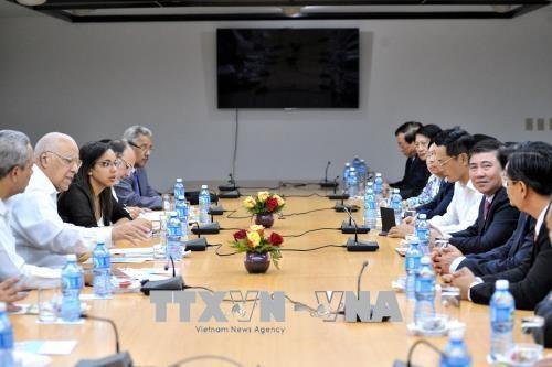 Cuba et Ho Chi Minh-Ville resserrent leurs liens economiques hinh anh 1