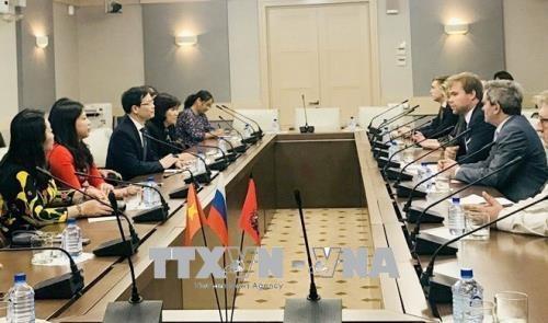Une delegation de la province de Tuyen Quang en visite en Russie hinh anh 1